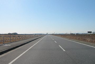 木更津~富津の臨海道路
