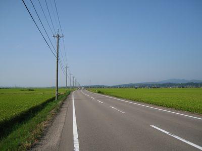 河北潟周辺広域農道
