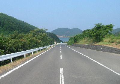 香川県道234号大浜仁尾線 三豊 ...