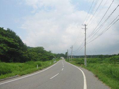 地蔵峠越えの道