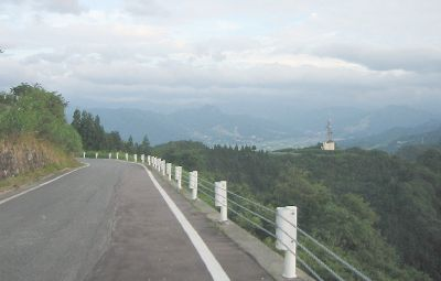 魚沼スカイライン 桝形山付近